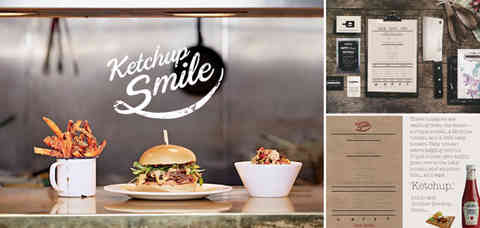N | Ketchup Smile Burger