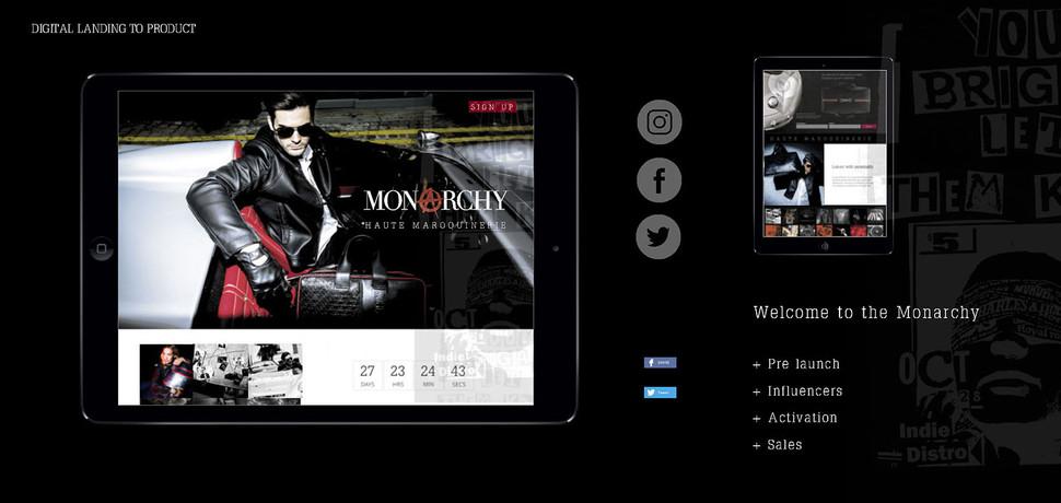 N | Monarchy London social media