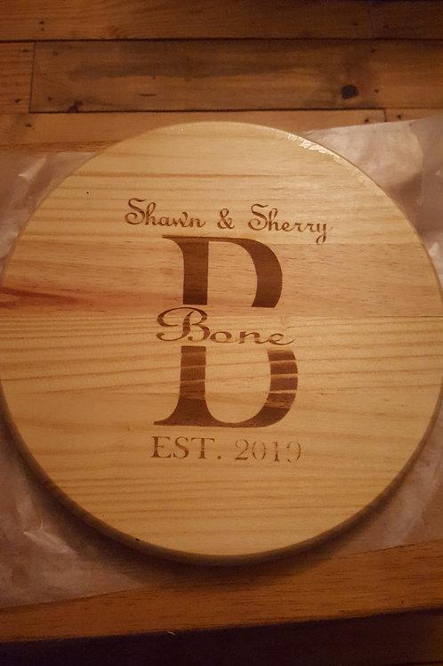 Pine Cutting Board-Personalized
