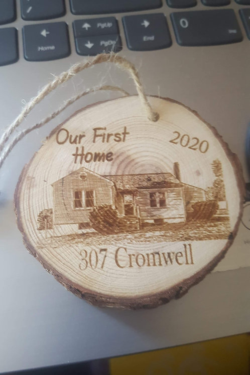 Personalized Wood Ornaments