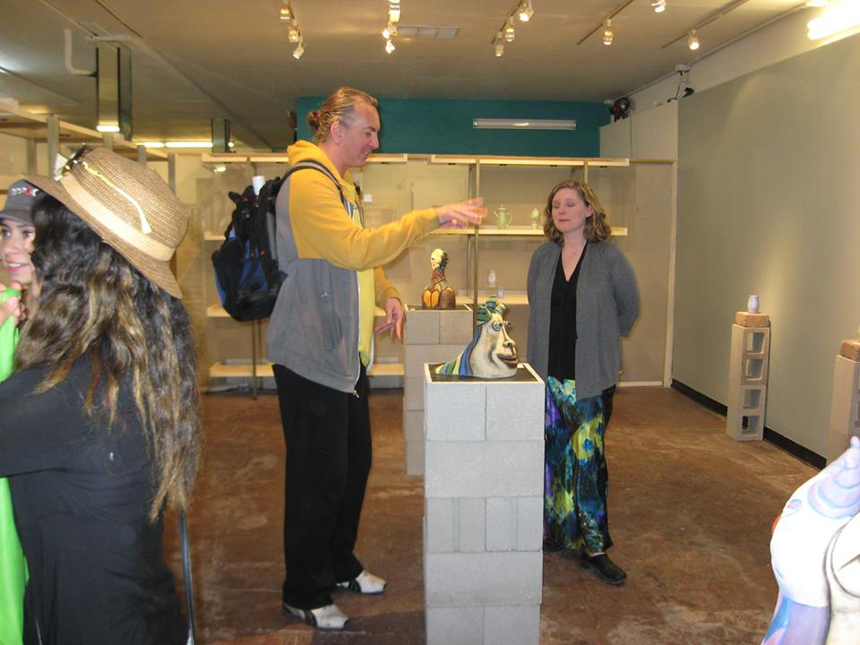 Gallery Talk at Clay Arts Vegas