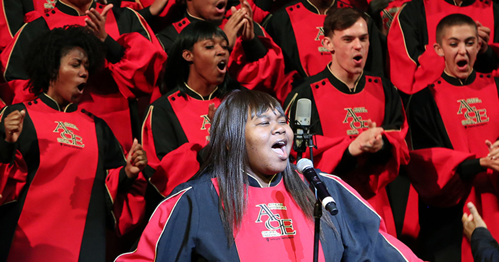 African American Choral Ensemble-Director: Raymond Wise