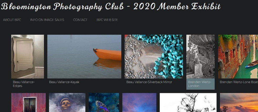 BCP 2020 Exhibition