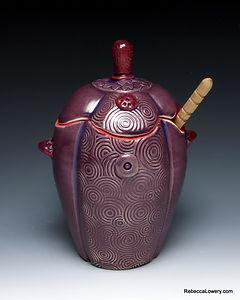 Purple textured Honey Pot 1.jpg