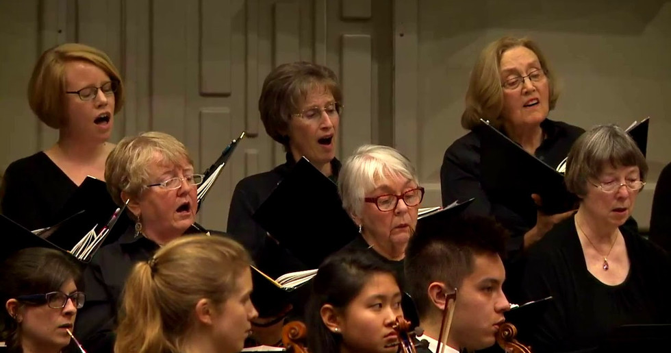 "Bloomington Chamber Singers-from Cantata ""Sie werden aus Saba alle kommen"", BWV 65, by J.S. Bach"