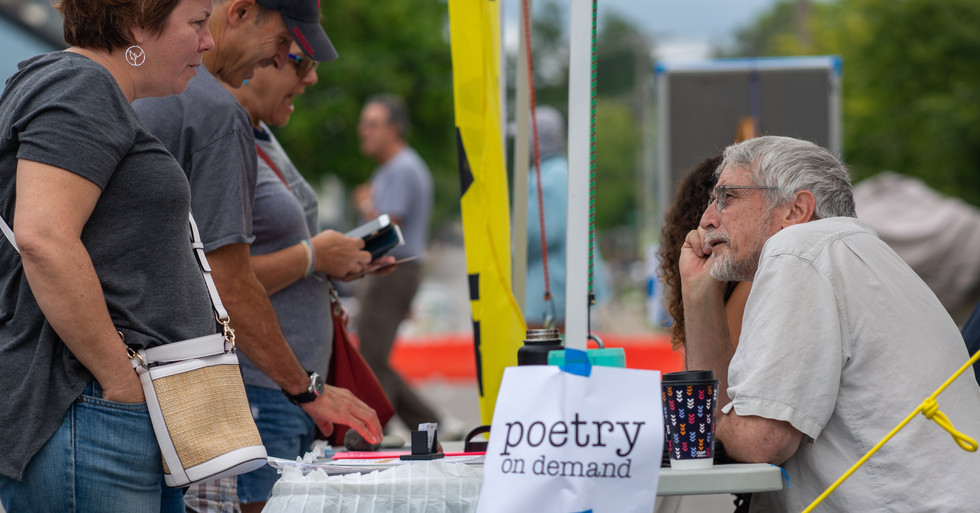 Poetry on demand