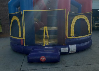 5 Player Wrecking Ball Inflatable Game