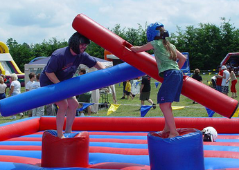 Gladiator Joust Inflatable Interactice Game