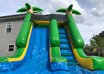 Island Splash Inflatable Water Slide from Jump CSRA Party Rental