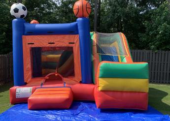 Jump CSRA Party Rental Sports Court