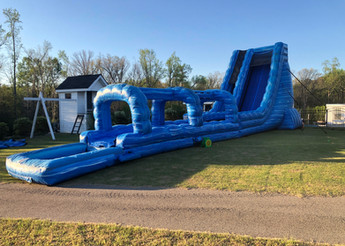The Tsunami Giant Water slide from Jump CSRA Party Rental