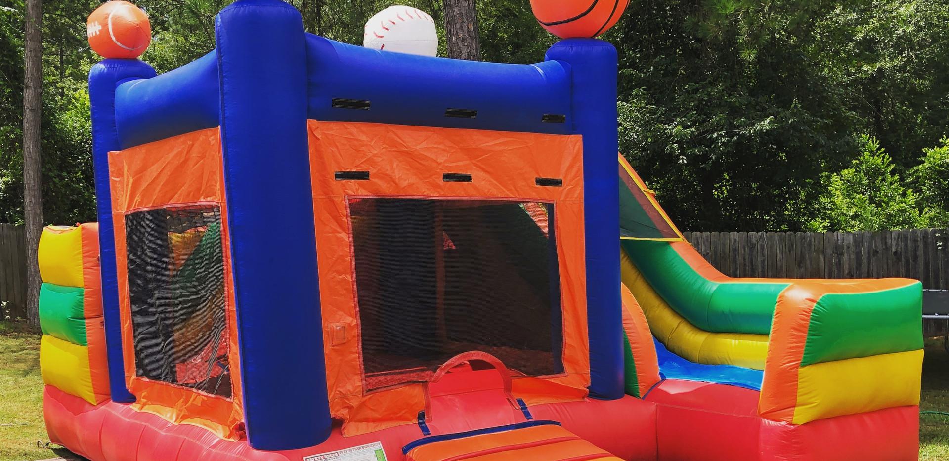 Jump CSRA Sports Court Bounce House Water Slide
