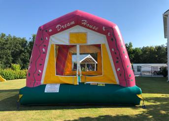 Rainbow Dream House Bounce House from JumpCSRA