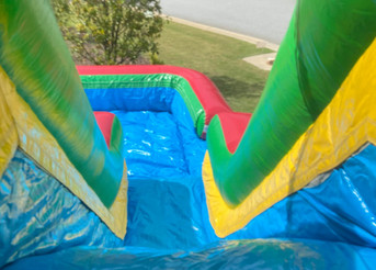 High-Velocity Water Slide from Jump CSRA