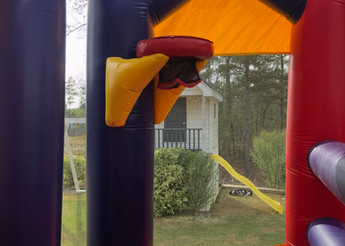 Tunnel Tower Combo Bounce House from JumpCSRA Party Rental