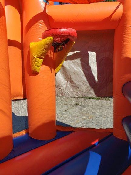 SpongeBob SqaurePants Bounce House and Slide Combo