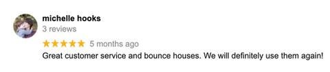 Jump CSRA Google Review