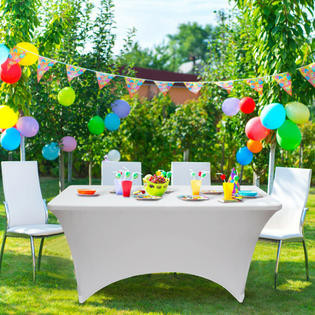 Jump CSRA Event Table for wedding, birthday and coorparate events