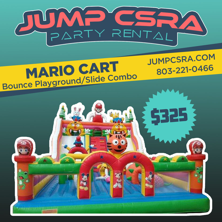 Mario Cart Adventure Land