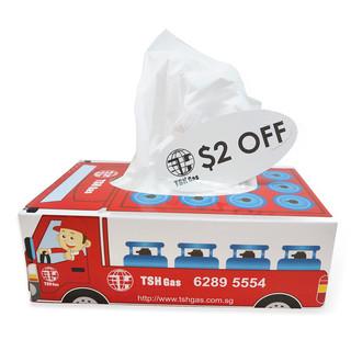 Tan Soon Huah Gas Supply Tissue Box