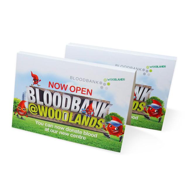 BloodBank Cardboard Tissue Pack