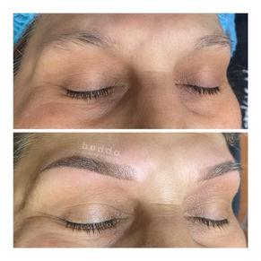 Budda beauty PMU powder brows 2