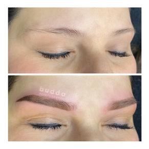 Budda beauty PMU powder brows 1