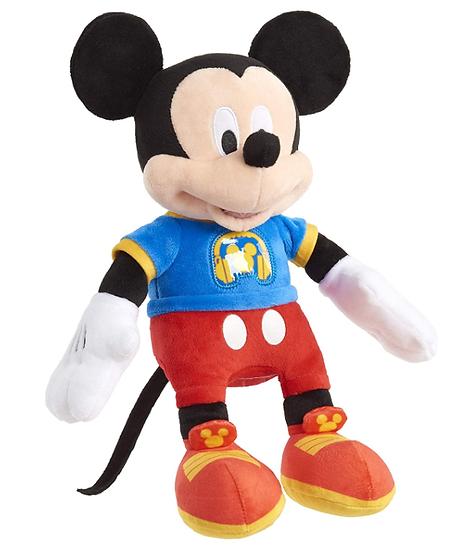 Switch-adapted Mickey Singing Plush