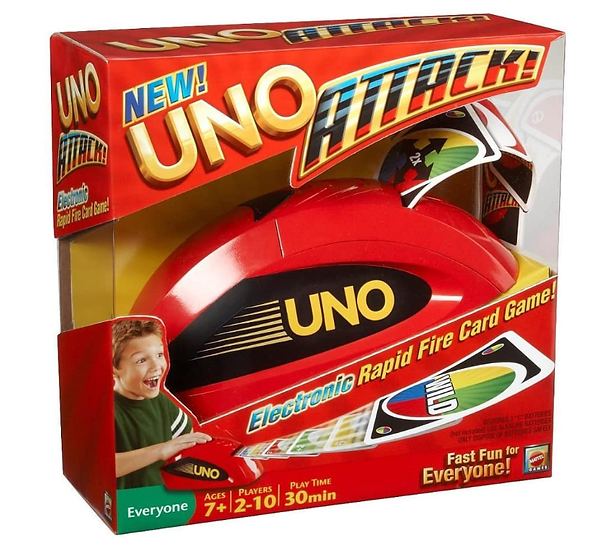 Switch-adapted Uno Attack Rapid Card Game