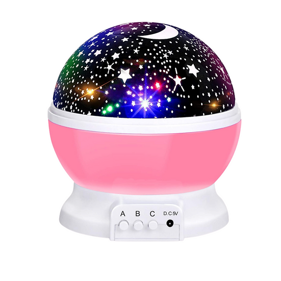 Switch-adapted Starlight Projector-Pink