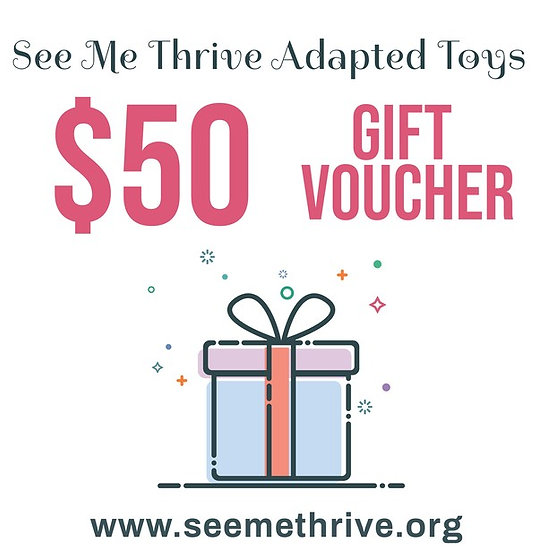 $50 Gift Card for See Me Thrive Adapted Toys