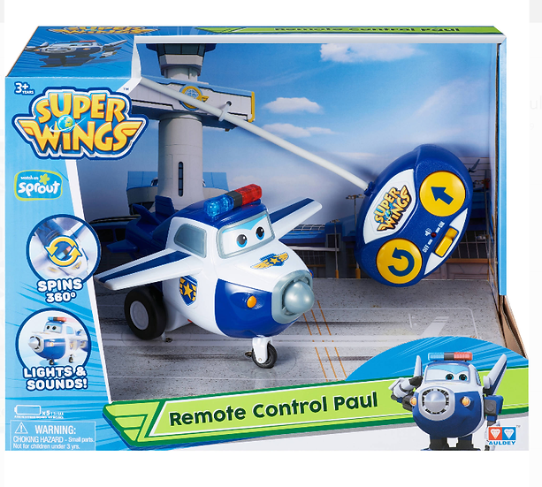 Switch-adapted Super Wings Policeman Paul