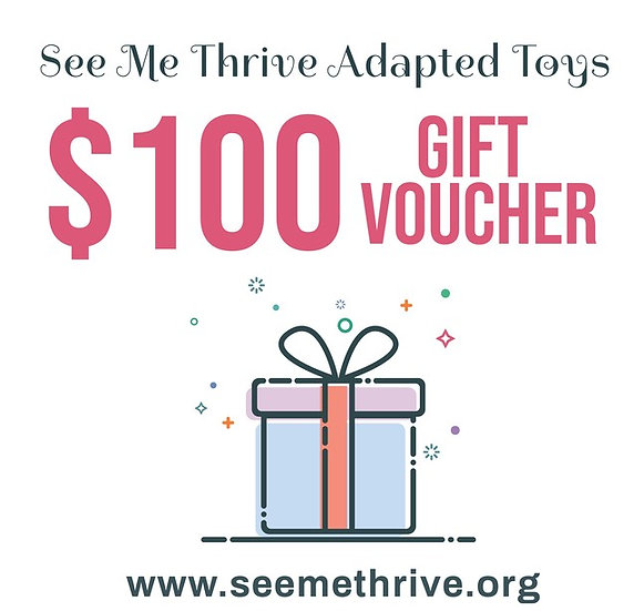 $100 Gift Card for See Me Thrive Adapted Toys