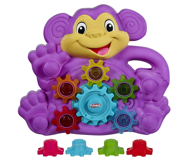 Switch-adapted Playskool Spinning Gears
