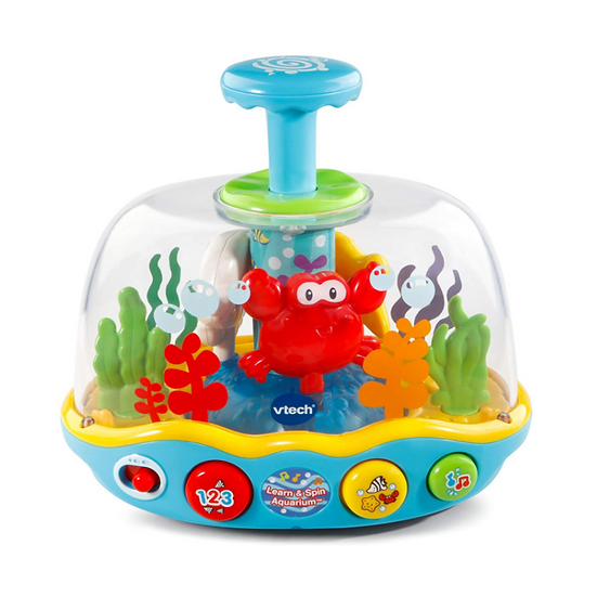 Switch-adapted Musical Learning Aquarium