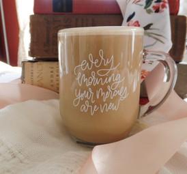 Every Morning Glass Mug