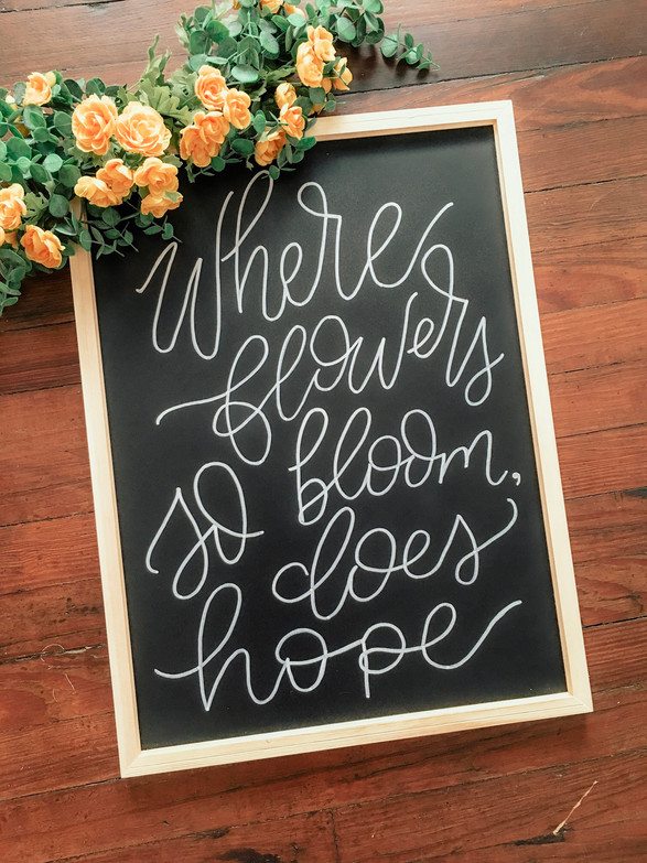 Chalkboard Hope