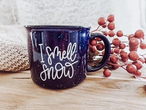 I Smell Snow Mug