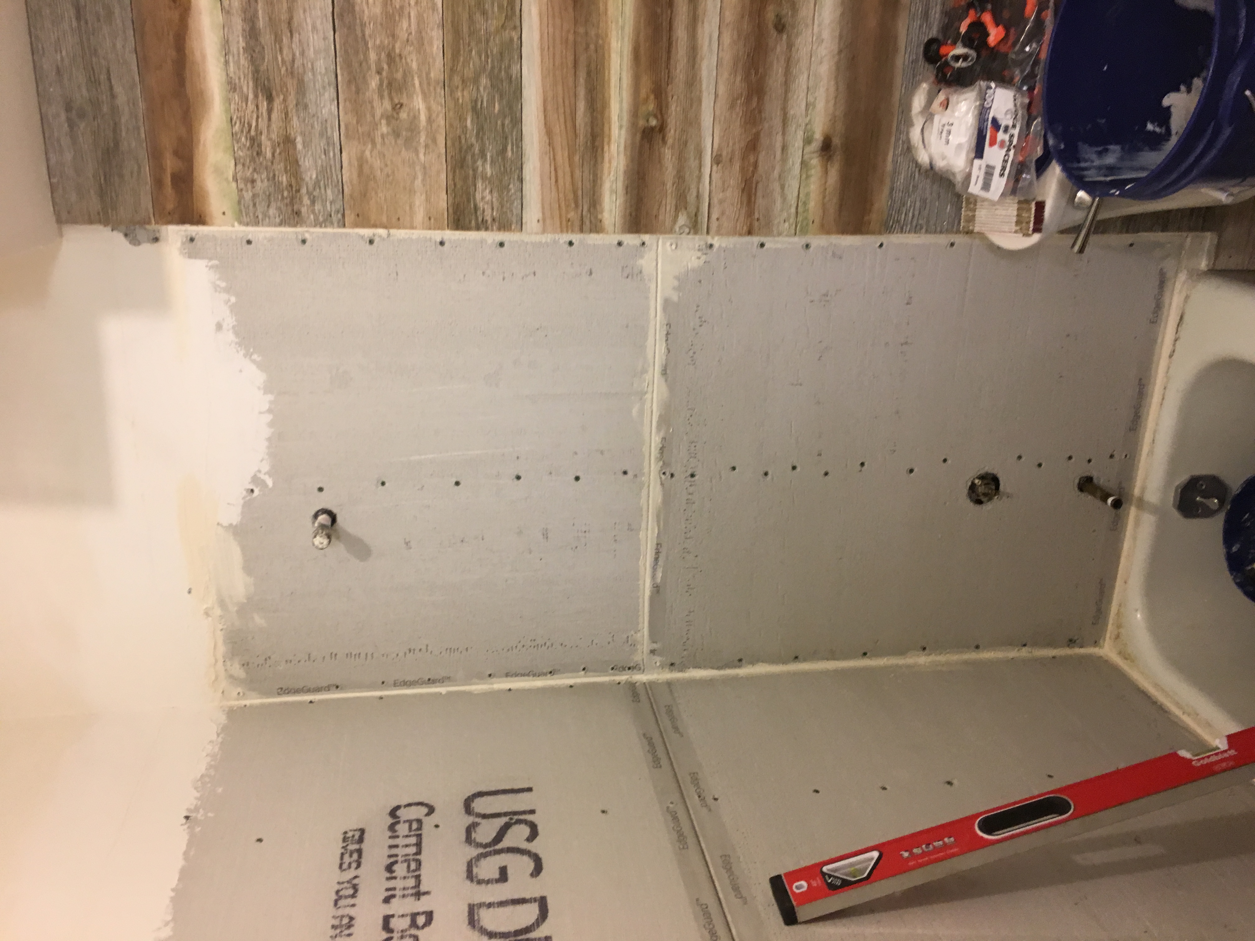 Sealing Cement Boards