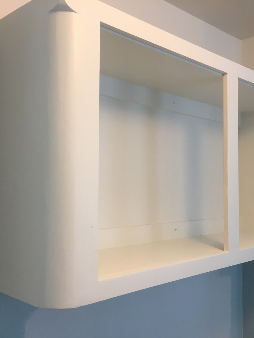 Freshly Painted Cabinet