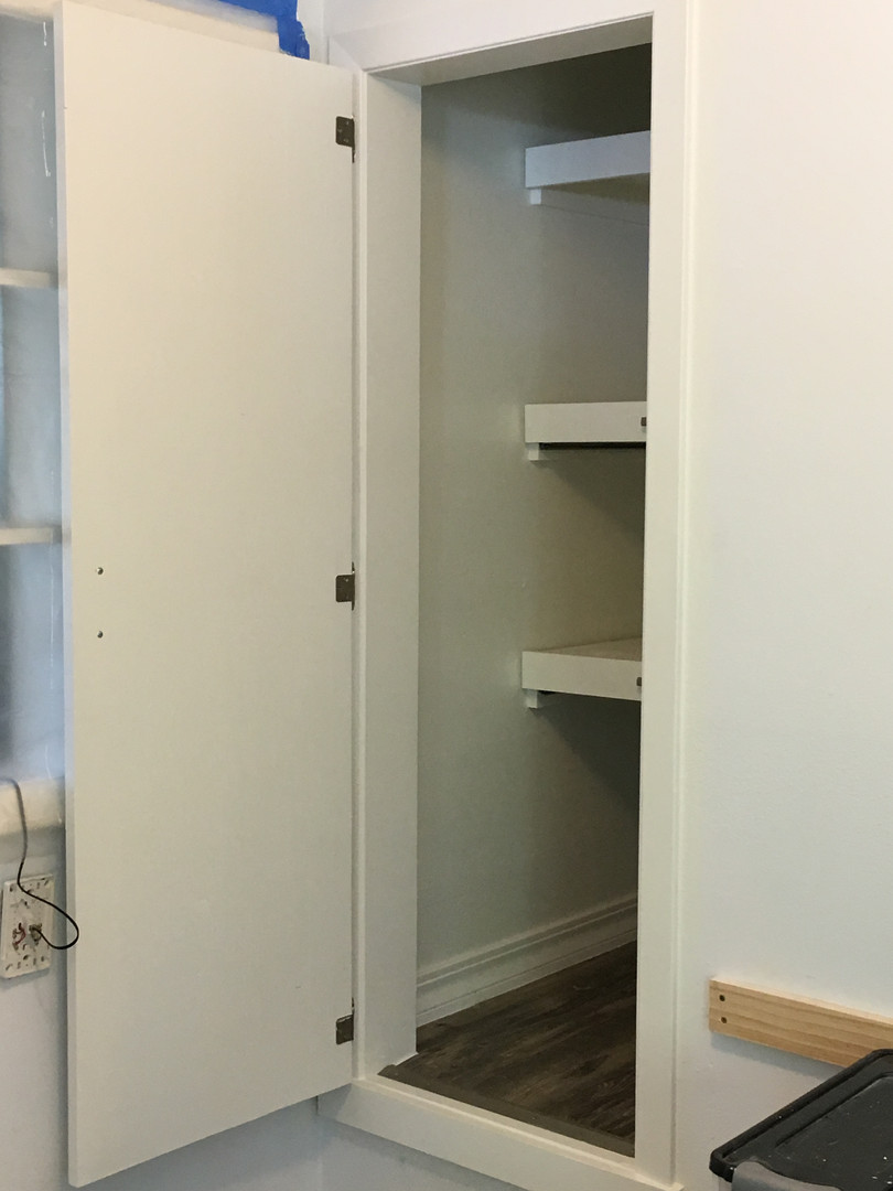 FInished Pantry Side View