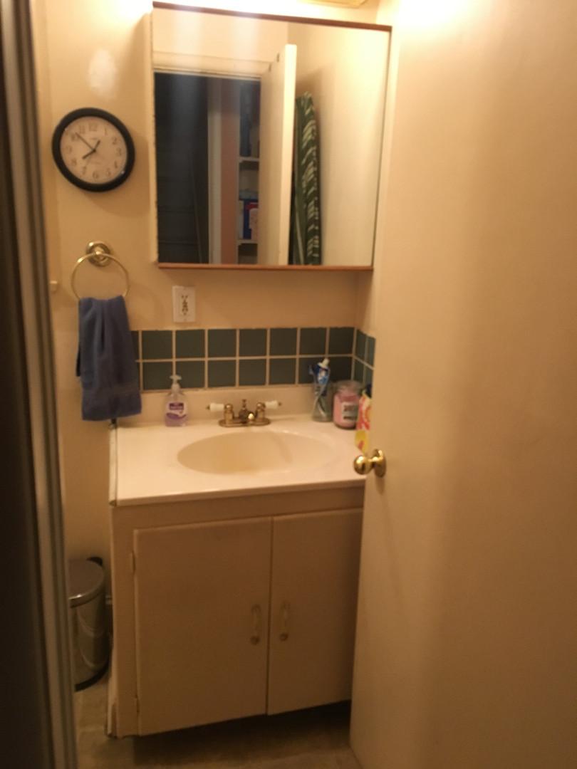 Old Bathroom Vanity