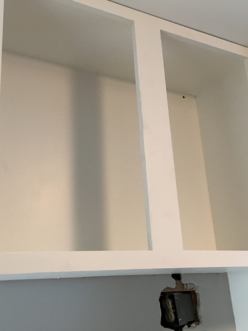 New Cabinet Install