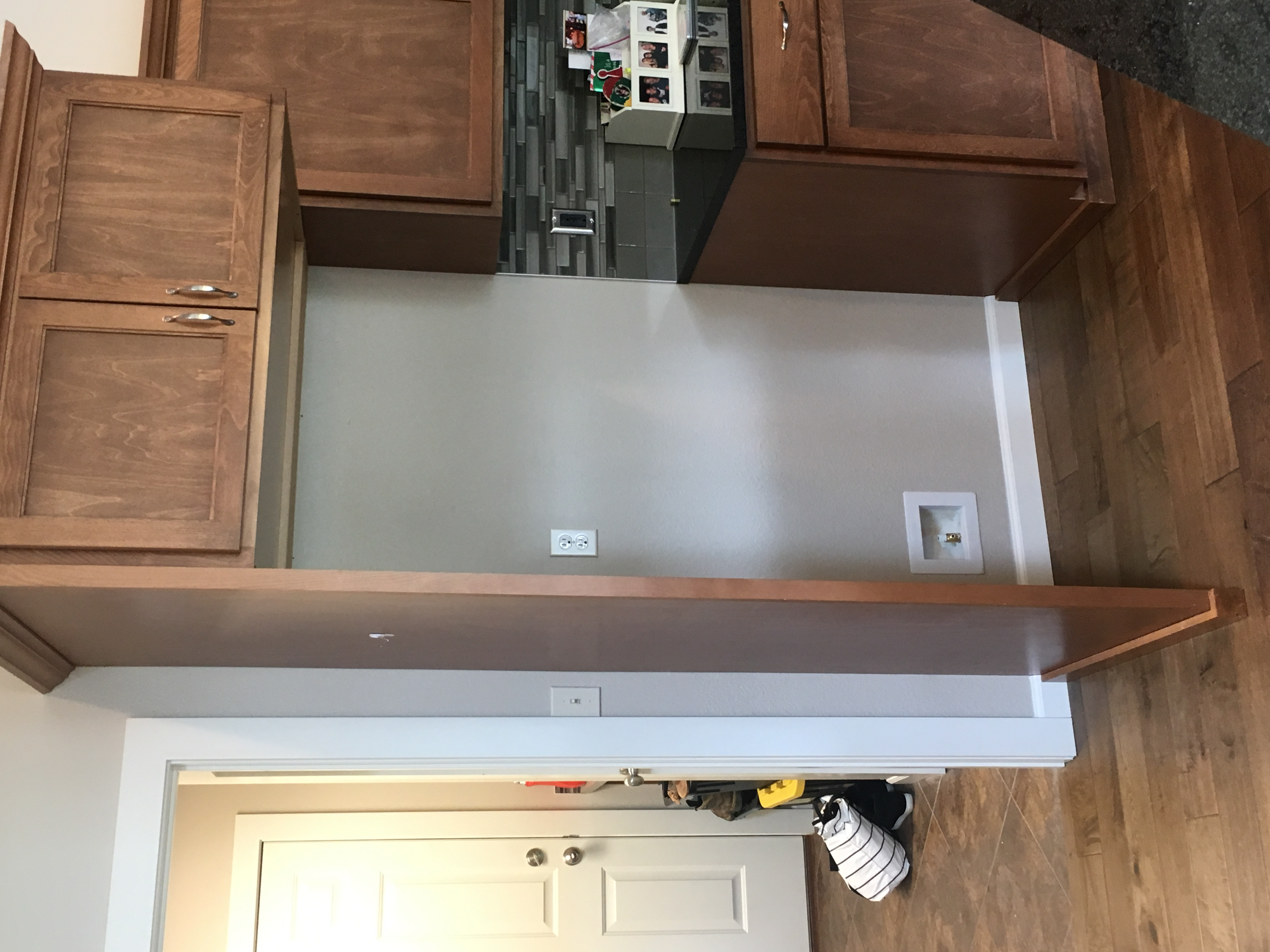Finished Kitchen Wall