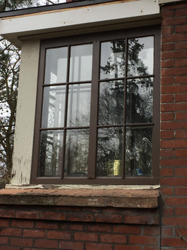 New Storm Window Installed