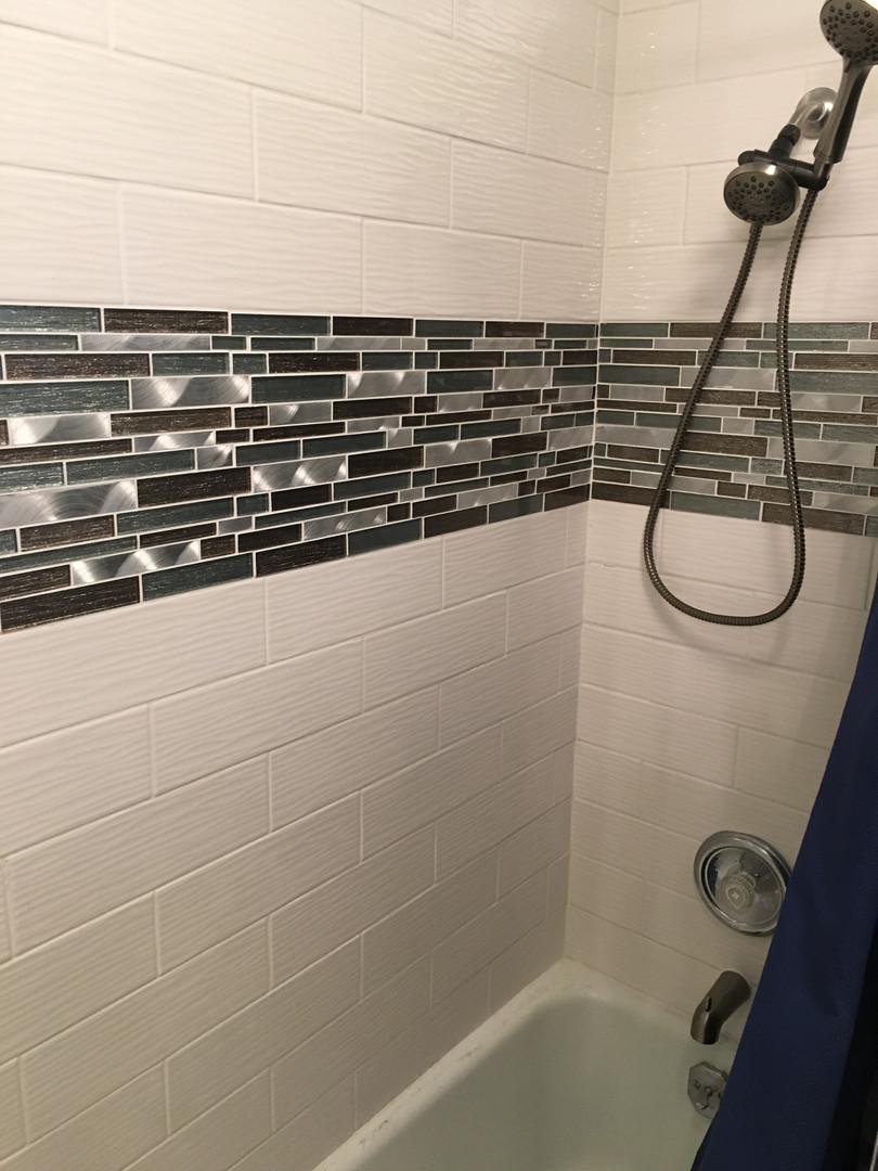 New Tile & Shower
