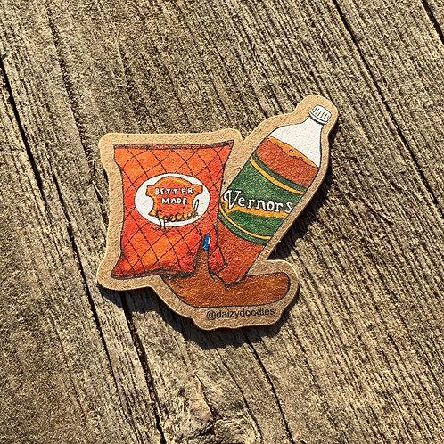 Detroit Snacks Sticker