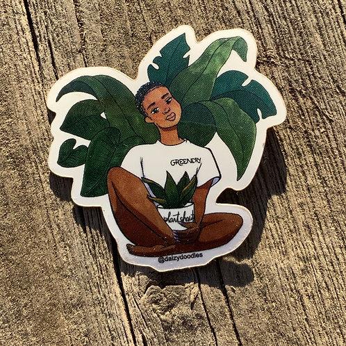 Plant Shawty Sticker