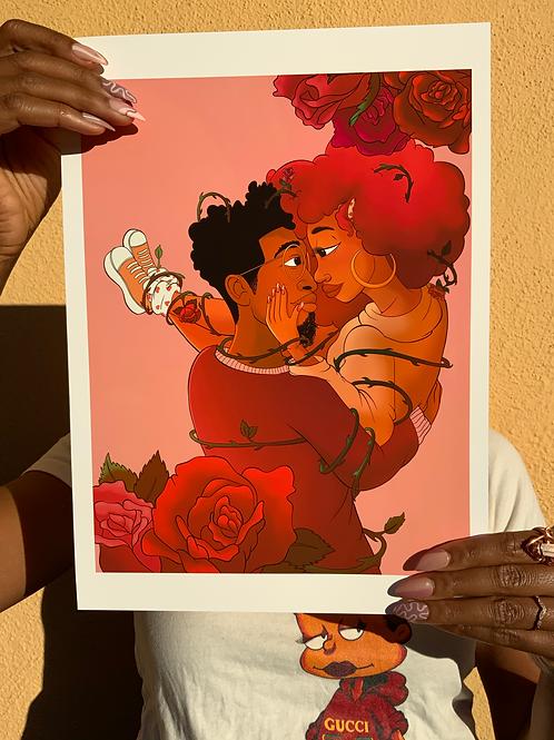 Tinder Love Archival Print