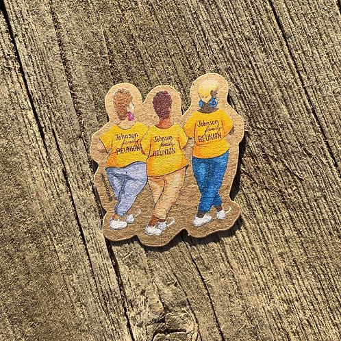 Aunties Sticker